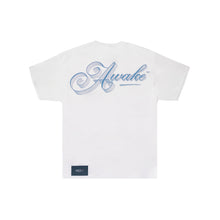 Load image into Gallery viewer, Awake NY Ribbon Script Logo Tee White