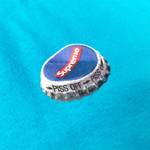 Load image into Gallery viewer, Supreme Bottle Cap Bright Blue