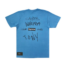 Load image into Gallery viewer, Supreme CNN The War Report Tee Blue