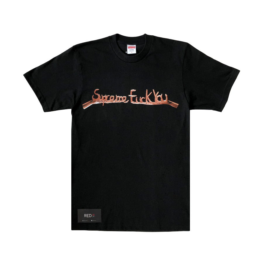 Supreme Fuck You Tee Black
