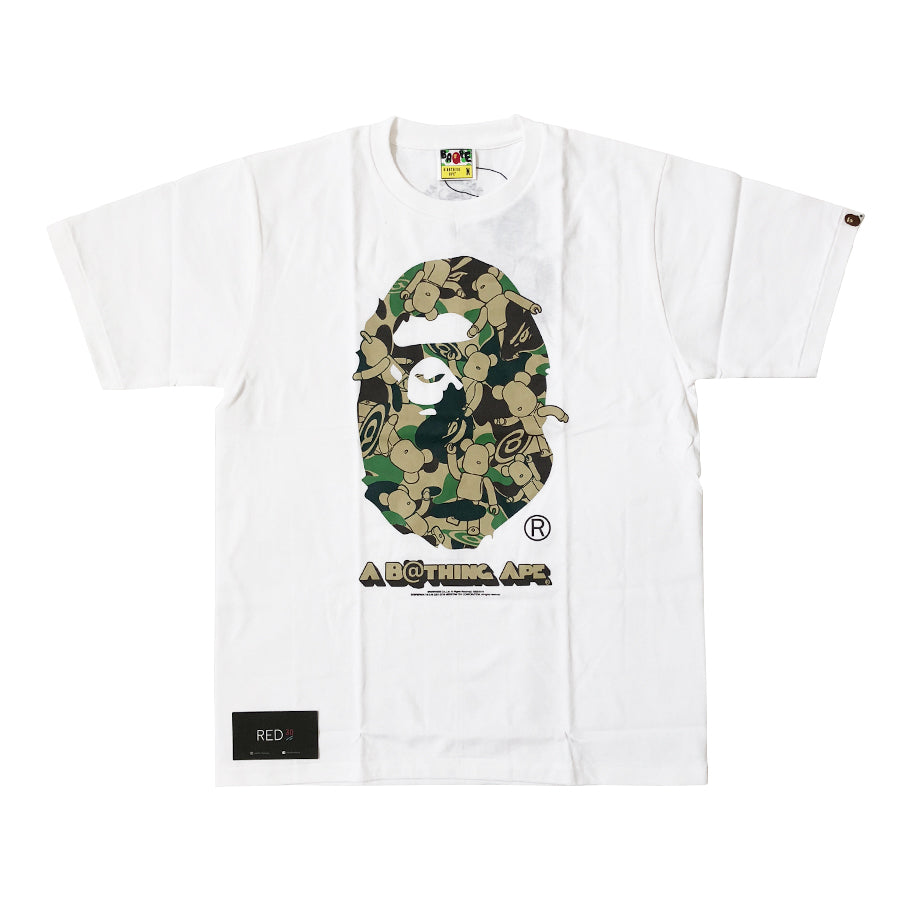 ef285c11 Load image into Gallery viewer, A Bathing Ape Bearbrick Tee White ...