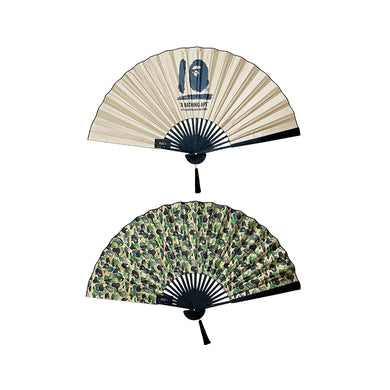 A Bathing Ape 10th Anniversary Bamboo Fan