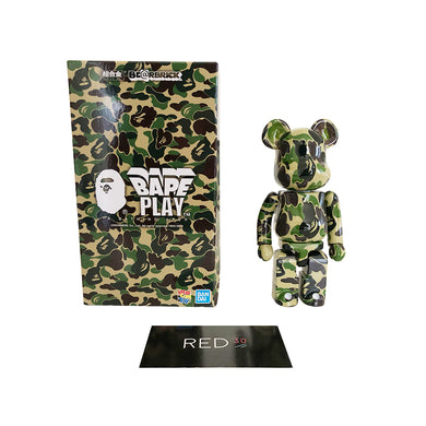 Medicom Toy A Bathing Ape ABC Camo Chogokin 200% Bearbrick Green Camo