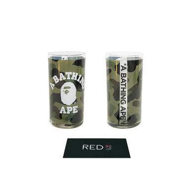 A Bathing Ape College Glass Green Camo