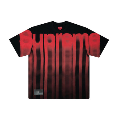 Supreme Bleed Logo Tee Black