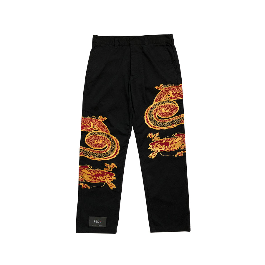 Supreme Dragon Work Pant Black