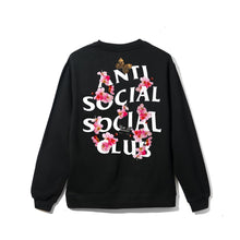 Load image into Gallery viewer, ASSC Kkoch Black Crewneck