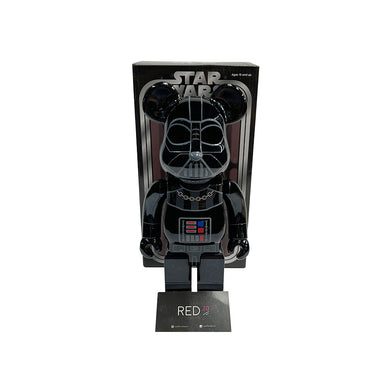Medicom Toy Darth Vader 400% Bearbrick Black Chrome