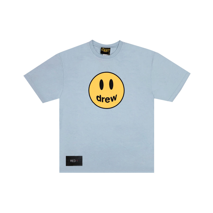 Drew Mascot Tee Light Blue