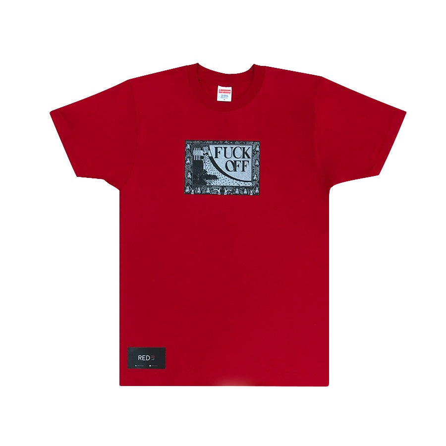 Supreme Fuck Off Tee Red