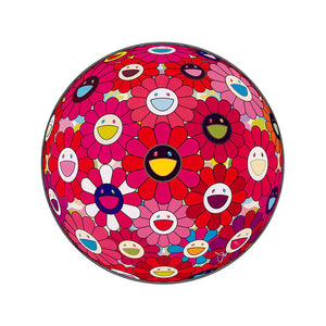 Takashi Murakami - Flower Ball Red (Letter to Picasso), 2013