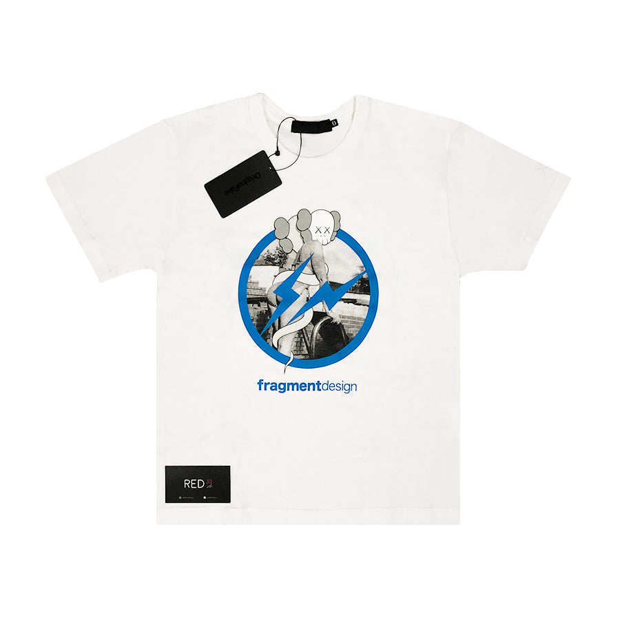Kaws Original Fake X Fragment Tee Shirt White