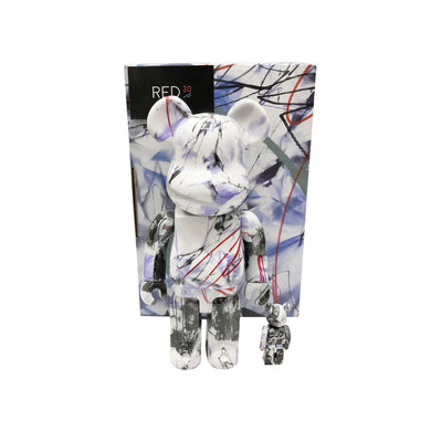 Medicom Toy Futura 400% + 100% Bearbrick Multi