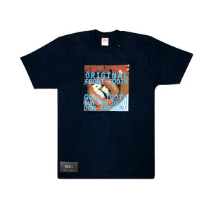 Supreme Gold Tooth Tee Navy