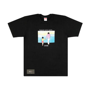 Supreme Heaven and Earth Tee Black