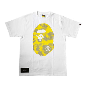 A Bathing Ape Reflective Camo Tee White
