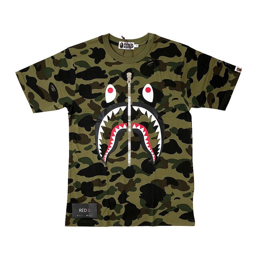 A Bathing Ape 1st Camo Shark Tee