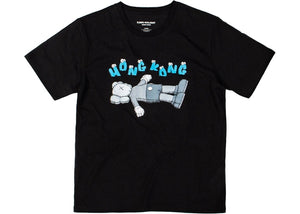 Kaws Holiday Hong Kong T-Shirt Black
