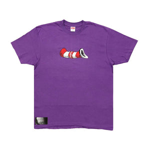 Supreme Cat In The Hat Tee Purple