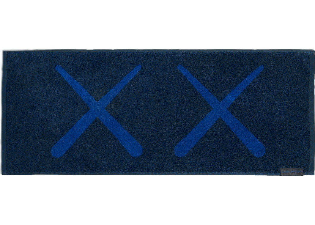 Kaws Holiday Korea Towel Navy