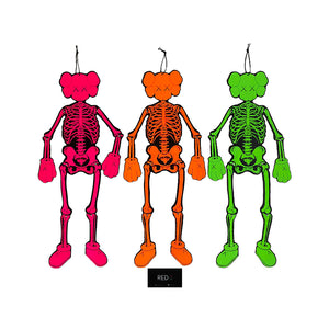 Kaws Original Fake Companion Hanging Skeleton