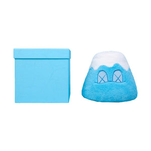 "Kaws Holiday Japan 8"" Mount Fuji Plush Blue"