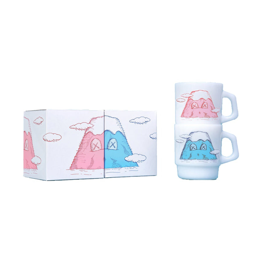 Kaws Holiday Japan Mount Fuji Fire-King Mug