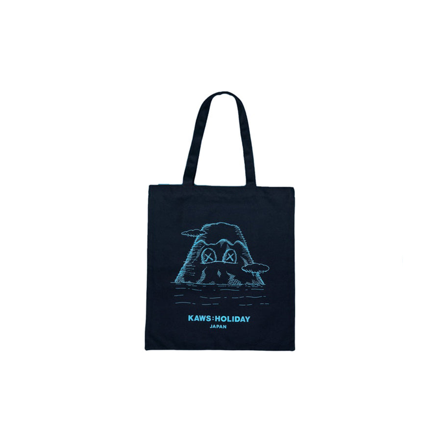 Kaws Holiday Japan Tote Bag Navy