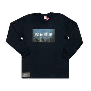 Supreme The Killer Long Sleeve Tee Navy