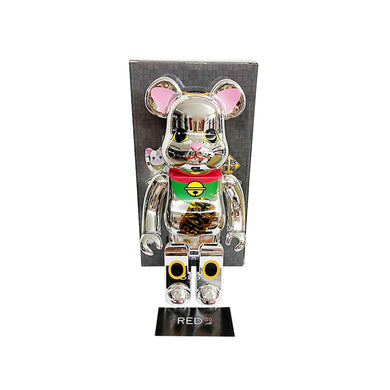 Medicom Toy Maneki Neko ( Light Version ) 400% Bearbrick
