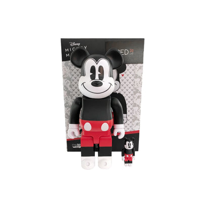 Medicom Toy Mickey (Red & White Version) 400% + 100% Bearbrick