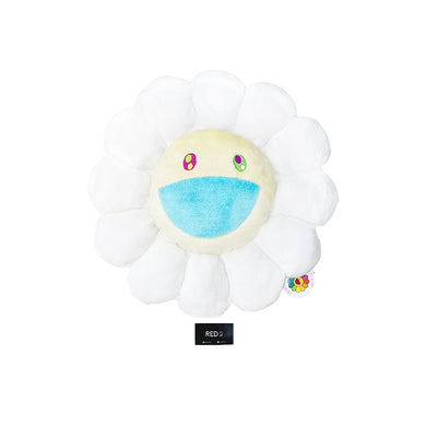 Murakami Flower Cushion White