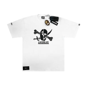A Bathing Ape X Neighbourhood FW18 Tee White