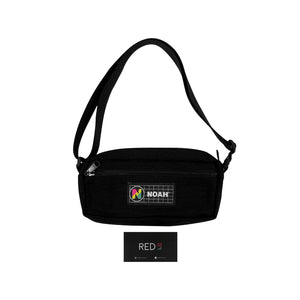 Noah Shoulder Bag Black