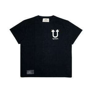 Off White X Undercover Skeleton Dart Tee Black