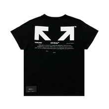 "Load image into Gallery viewer, Off White ""For All"" Collection ""03"" Tee Black"
