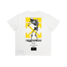 Load image into Gallery viewer, Off White X Undercover Skeleton Dart Tee White