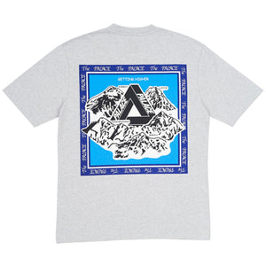 Palace Getting Higher Tee Grey