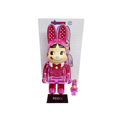 Medicom Toy Peko Chrome Rabbrick Pink