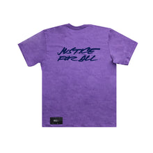 Load image into Gallery viewer, Supreme Futura Logo Tee Purple