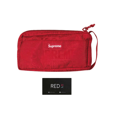 Supreme SS19 Organizer Pouch Red