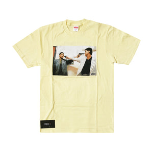 Supreme The Killer Trust Tee Pale Yellow