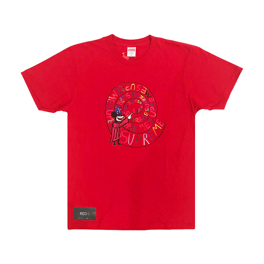 Supreme Joe Roberts Swirl Tee Red