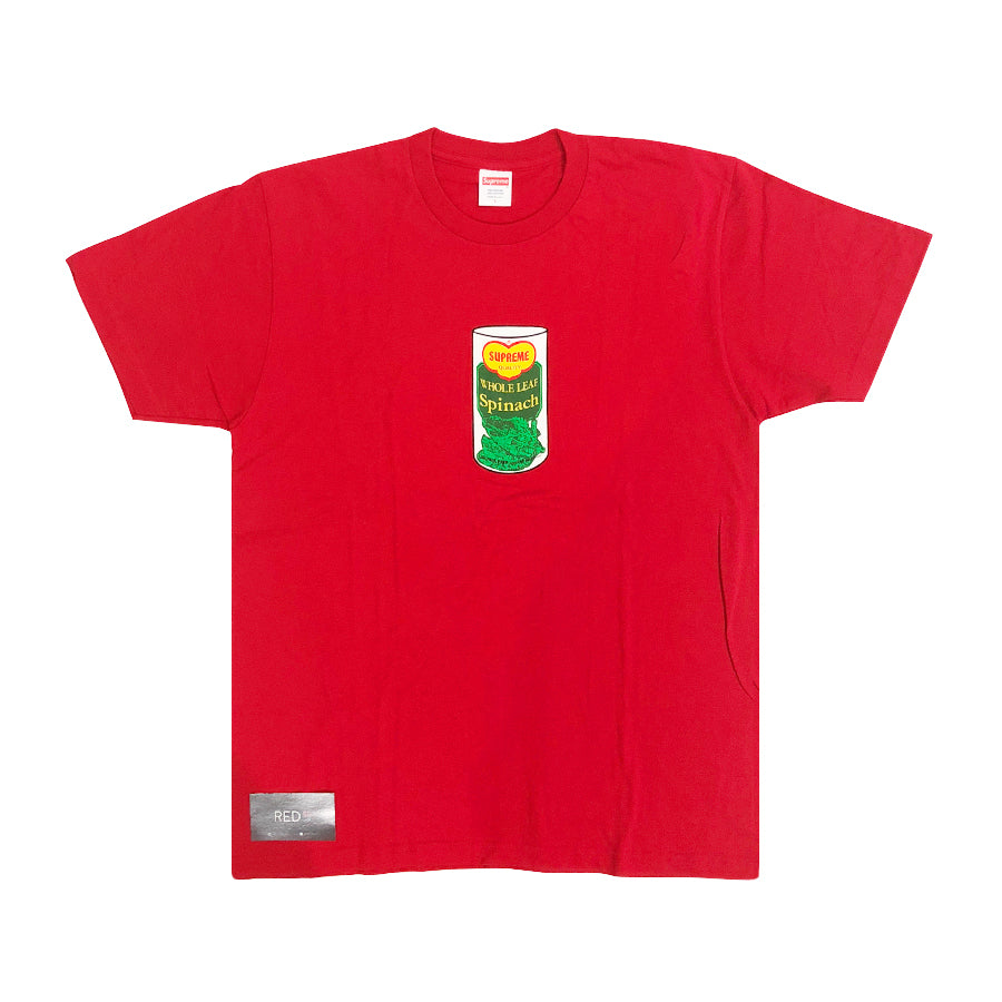 Supreme Spinach Tee Red