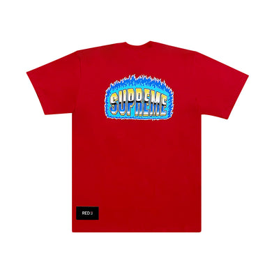 Supreme Chrome Tee Red