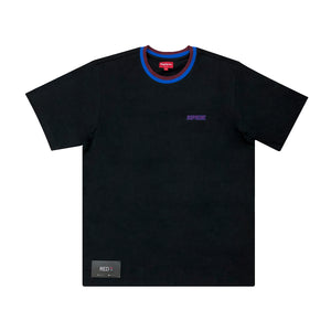 Supreme Split Rib S/S Tee Black