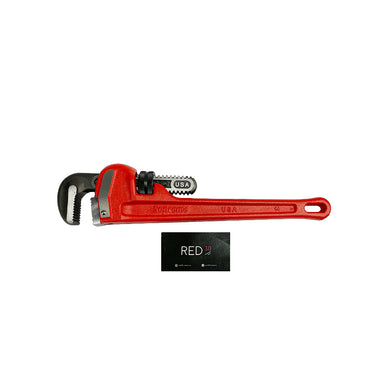 Supreme Ridgid Pipe Wrench Red