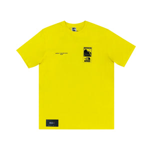 Supreme The North Face Steep Tech Tee Yellow