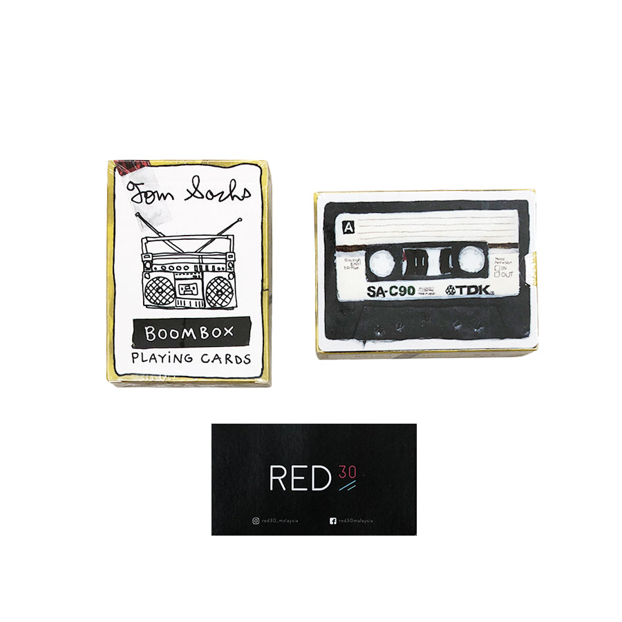Tom Sachs Boom Box Card Deck