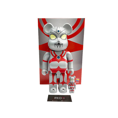 Medicom Toy Ultraman 400% + 100% Bearbrick